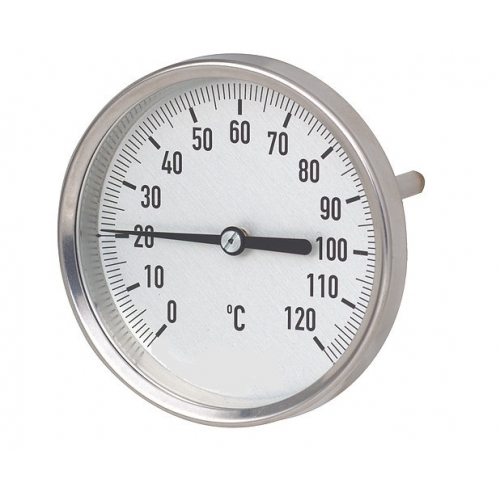Termometras bimetalinis su galiniu pajungimu