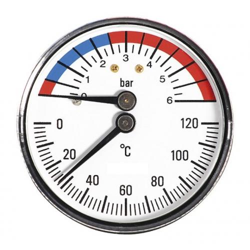 Termomanometras su galiniu pajungimu