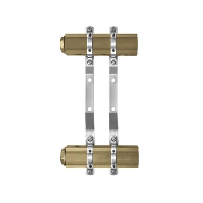 Kolektoriai žalvariniai nereguliuojami be nipelių 2-6 žiedų