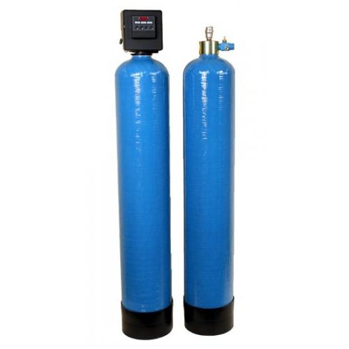 Nugeležinimo filtras su kompresoriumi ir oksidacine talpa FT-WS1-08MXO-C