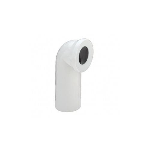 Alkūnė WC balta d110 90°