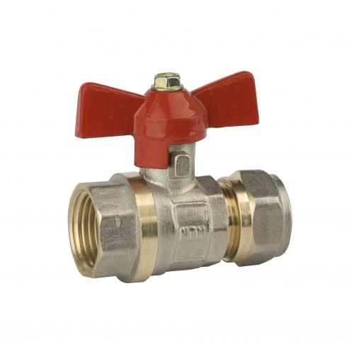"""Rutulinis ventilis daugiasluoksniui vamzdžiui 1216-1/2"""" vid."""