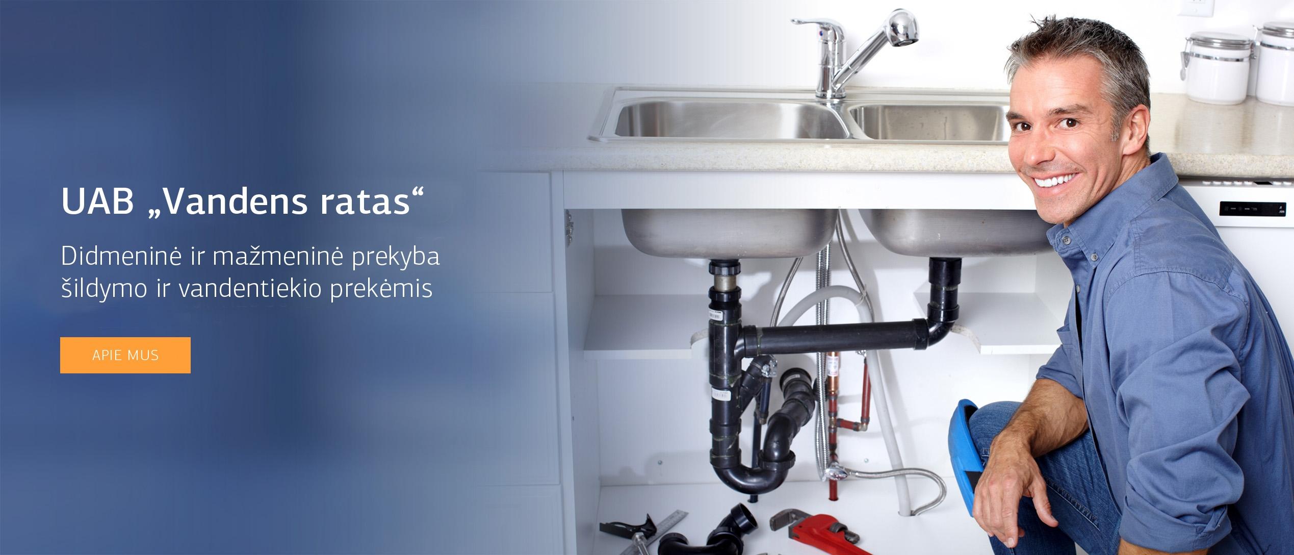 Šildymas, vandentiekis, santechnika